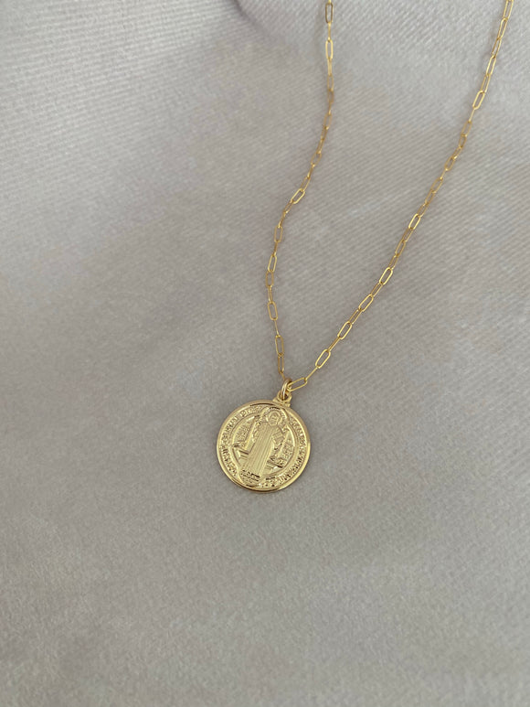 Medium St. Benedict Necklace