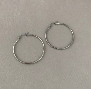 40mm Stainless Steel Hoops