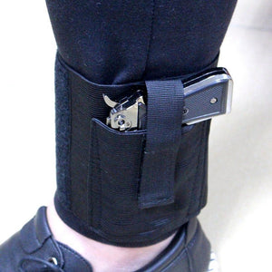 Universal Ankle Holster for Small to Mid-size Handguns for Low Profile Concealed Carry.  *Firearm Not Included.