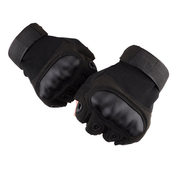 Tactical Breathable Sweat Resistant Half Finger Gloves