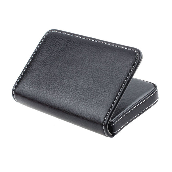 Stitched Leather Card Holder