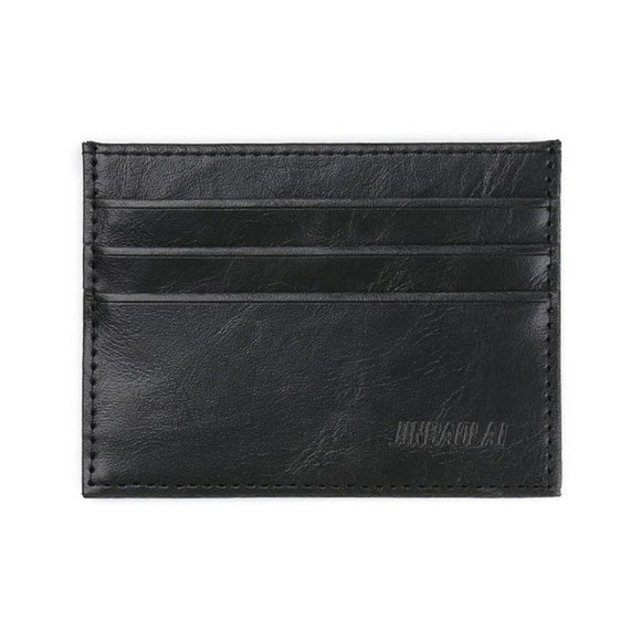 Leather Credit ID Card Slim Wallet