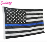 Thin Blue Line American Flag Honoring our U.S. Law Enforcement Brothers & Sisters