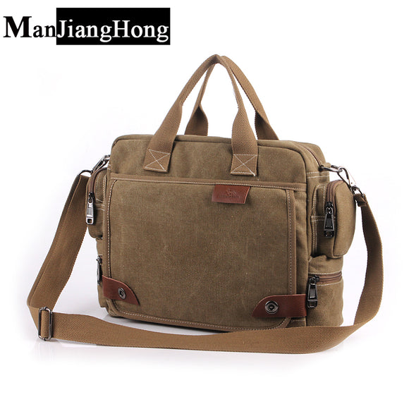 Rugged Business Field Canvas Bag