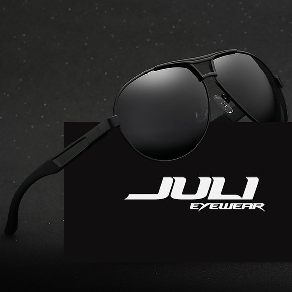 Tactical Classic Aluminum Polarized Driving Sunglasses in (6) Variations by Juli Eyewear