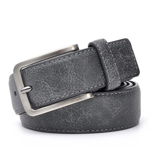 Classic Genuine Leather Belt by Kaven Peter, available in (21) color and size combinations of Black/Grey, Dark Brown and Brown (Verify your waist size before ordering)