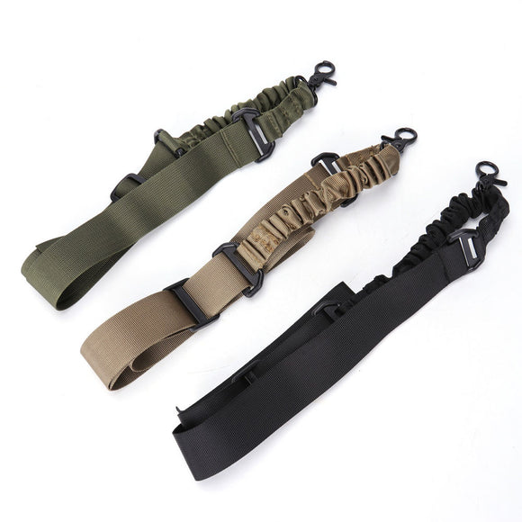 Tactical Single Point Rifle/Shotgun Sling in black, tan or green