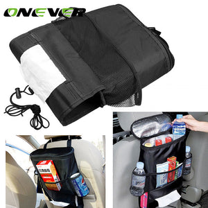 Universal Insulated Car Seat Back Organizer