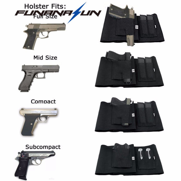 Belly Holster with 37