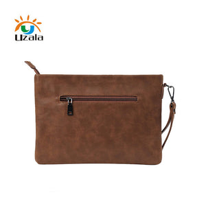 Business Casual Handheld Leather briefcase