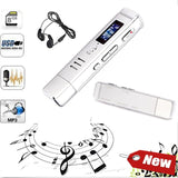 Digital USB Voice Recorder with LCD Screen