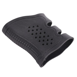 Protective Rubber Anti-Slip Tactical Handgun Grip/Magazine Well Sleeve for Glock 17, 19, 20, 21, 22, 31 and 32 ( In 3 Variations)