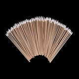 100 Piece Jumbo Pack of (6) Inch Gun Cleaning Cotton Tipped Swabs