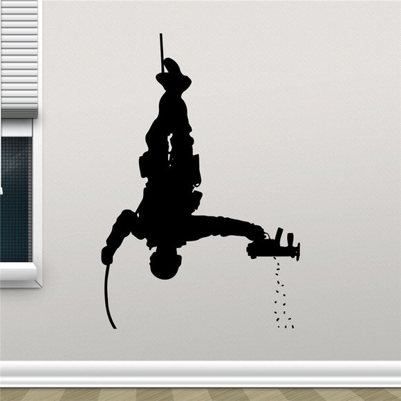 SWAT Wall Decor Vinyl Decal (various sizes and colors)