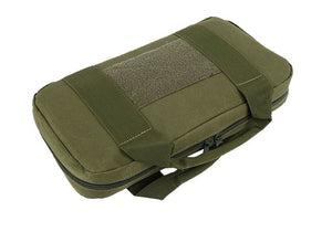 Tactical Single Pistol Case Range Handgun Bag (Firearm and other tools not included)