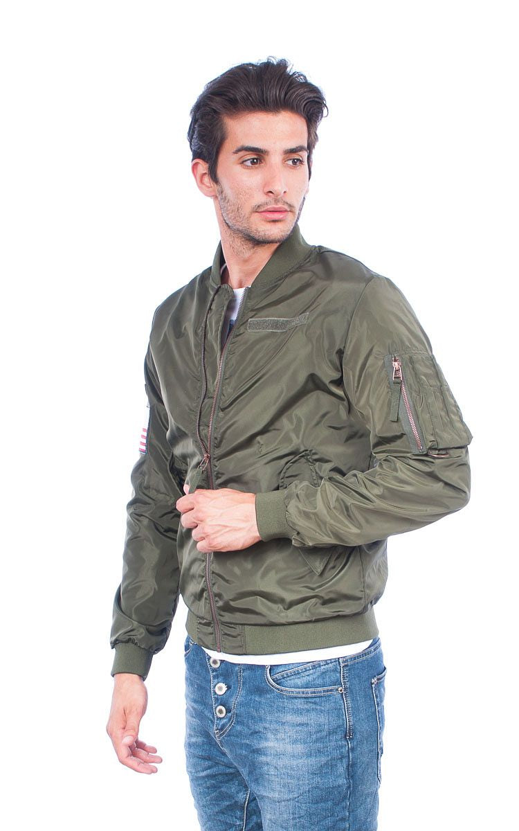 Jack & Jones Bomber Jacket λαδί