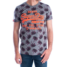 Superdry t-shirt premium goods dark marl