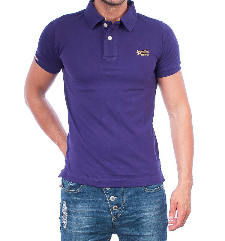 Superdry polo purple