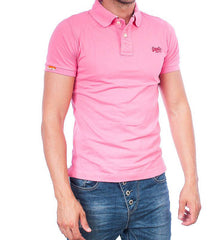 Superdry polo rapture pink