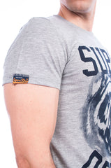 Superdry t-shirt wild athletics tee grey marl