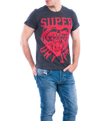 Superdry t-shirt wild athletics tee charcoal marl