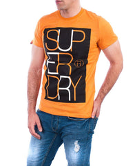 Superdry t-shirt overlap boxed tshirt