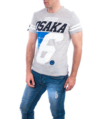 Superdry t-shirt speed osaka grey marl