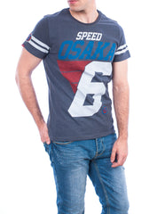 Superdry t-shirt speed osaka tee charcoal dark marl
