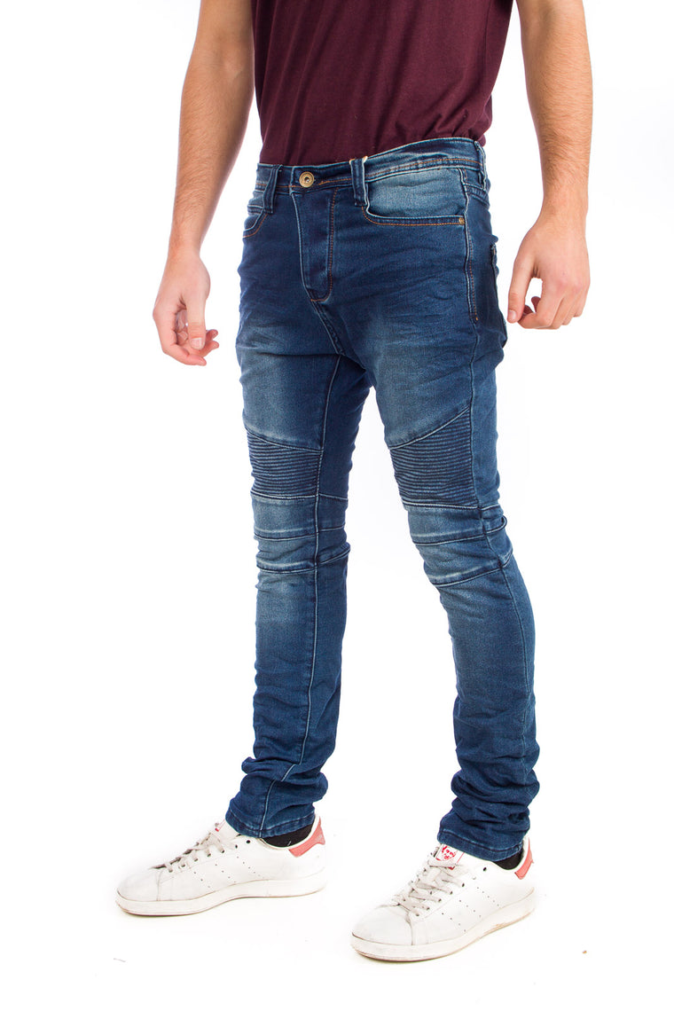 Eight2Nine JoggJeans Biker Μπλε