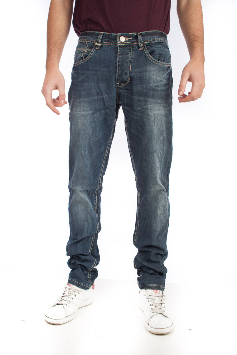 Sky rebel Jeans μπλε σκούρο dark blue H8816E60948D17RS