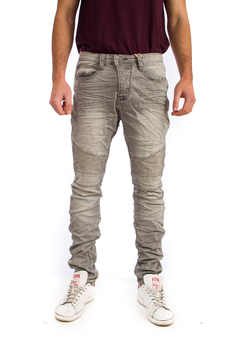 Eight2Nine JoggJeans Biker Γκρι GREY H1313I61528EN