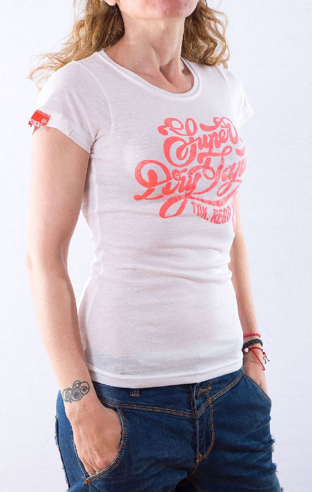 Superdry γυναικείο t-shirt optic