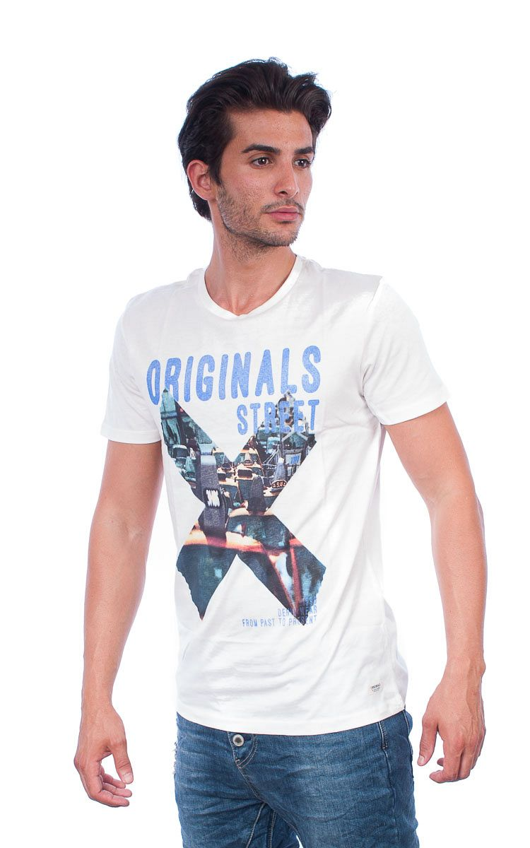 Jack & Jones TShirt λευκό