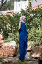 Load image into Gallery viewer, THE RANIA KAFTAN (ROYAL BLUE)