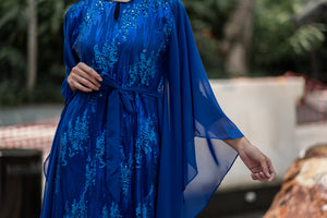 THE RANIA KAFTAN (ROYAL BLUE)