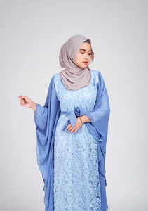 YC Aminah Kaftan - Light Blue