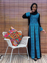 Load image into Gallery viewer, Turkish Sahara Princess Dress - Blue