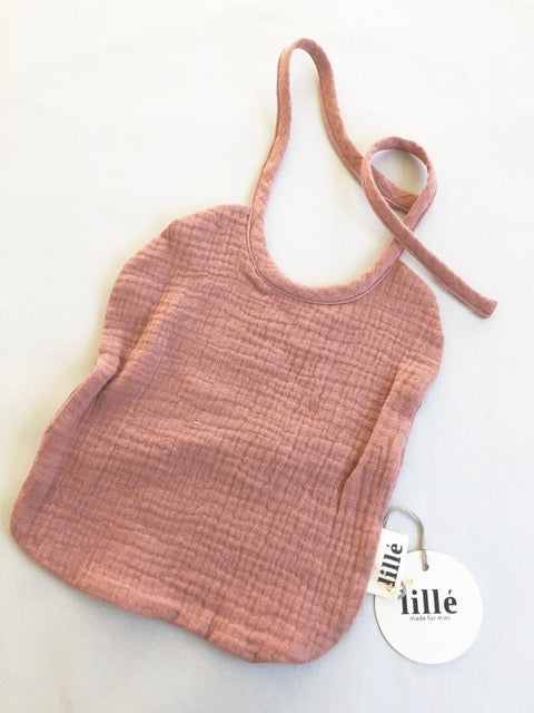 Lillé Muslin Bib Dusty Powder