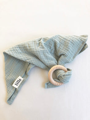 Lillé Muslin Cloth Teether Mint