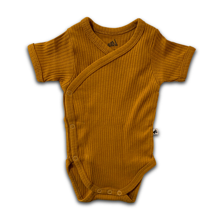 Cos I Said So Ribbed Romper Mustard