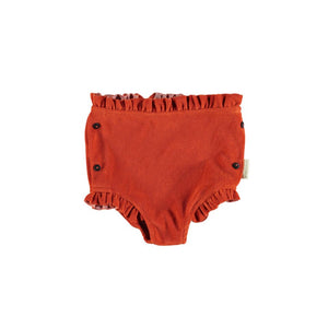Piupiuchick High Waisted Shorts Red