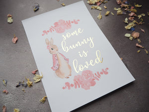 Peter Rabbit birthday/event print collection