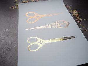 Hairdressing vintage scissors