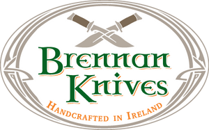Irish knifemaker handmade forged knives Brennan knives