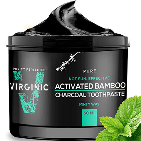 Activated Bamboo Charcoal Toothpaste Minty Way