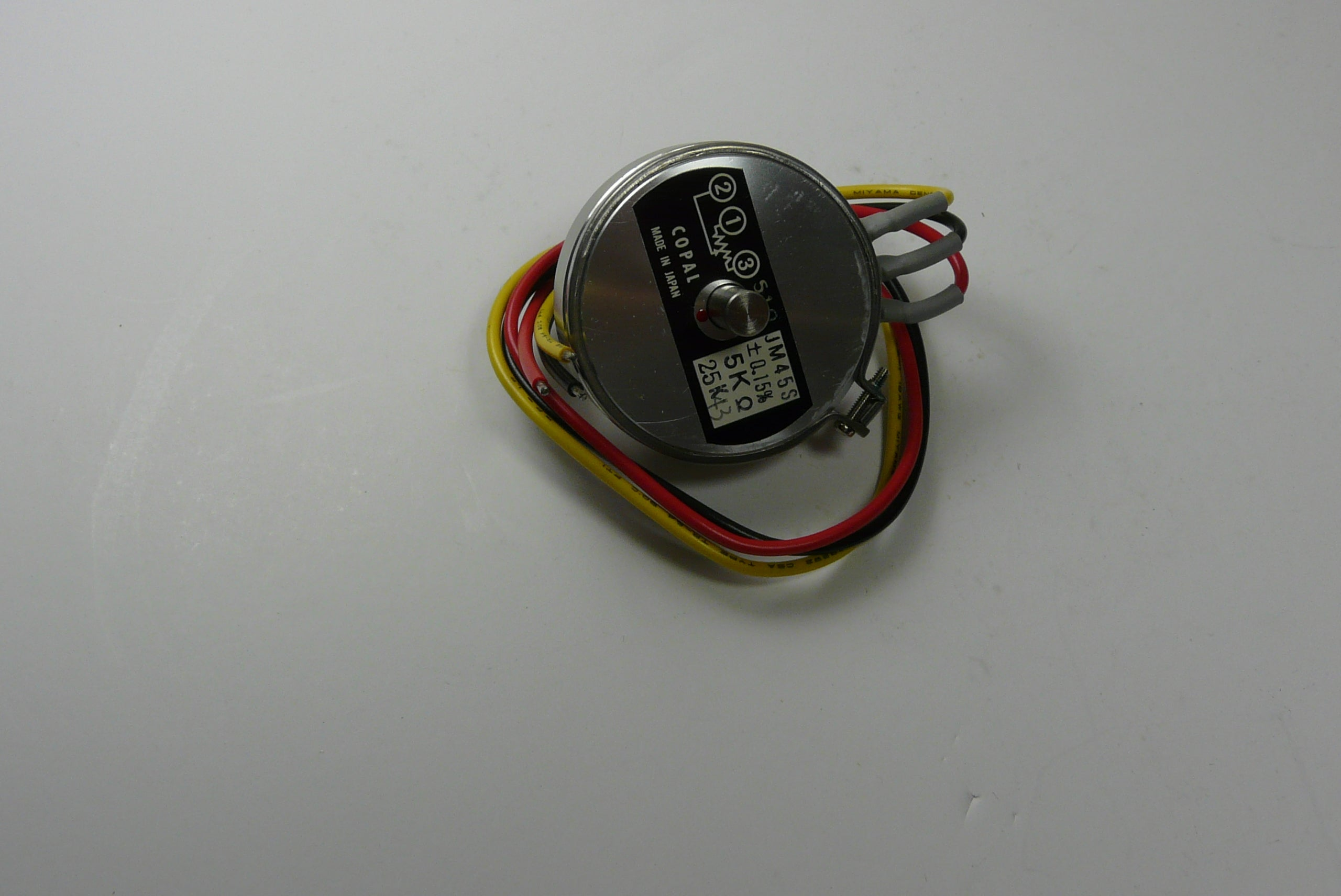 Mitsubishi Potentiometer Part# KG74909 Impression