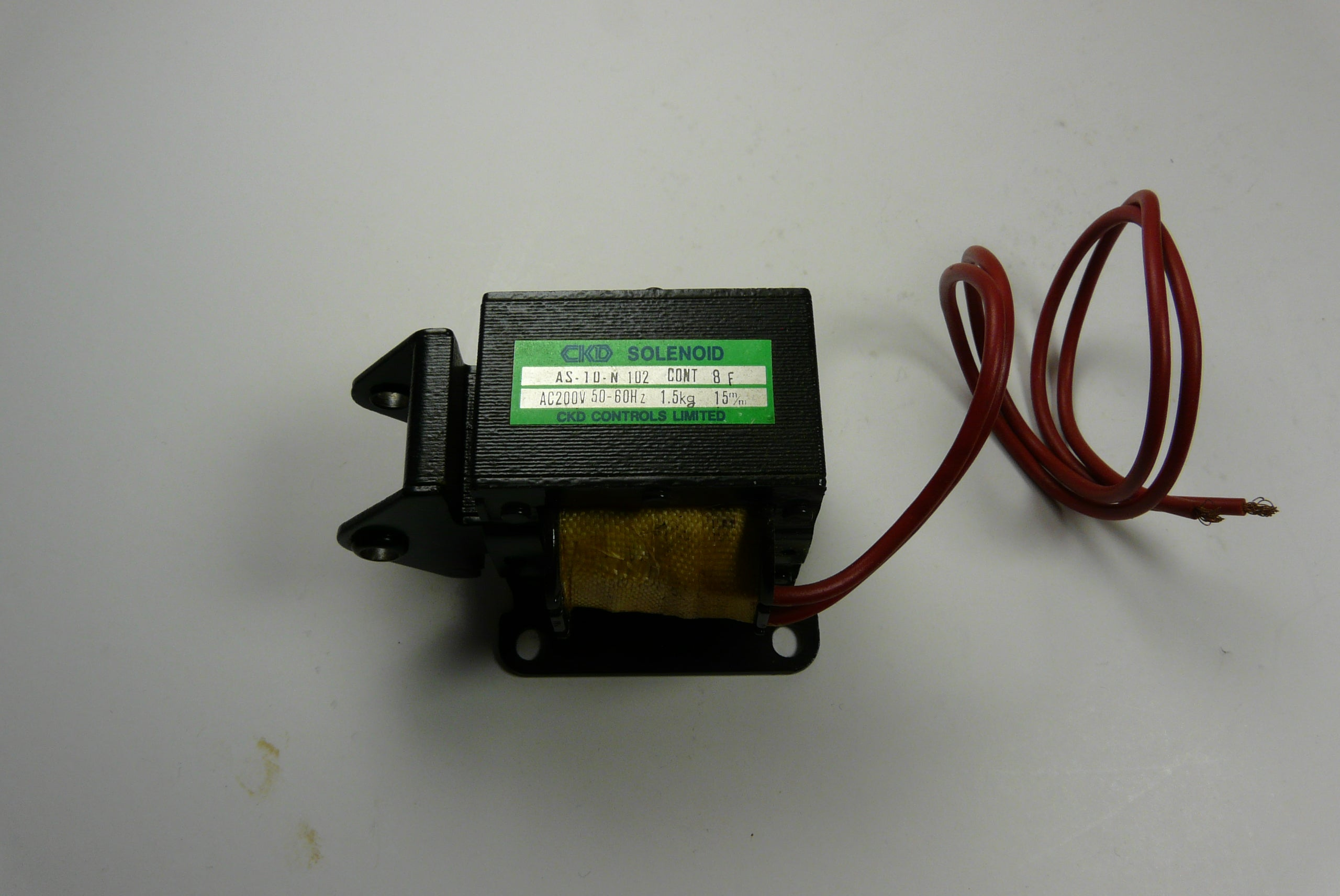CKD 200V Solenoid Part# AS-10-N-102