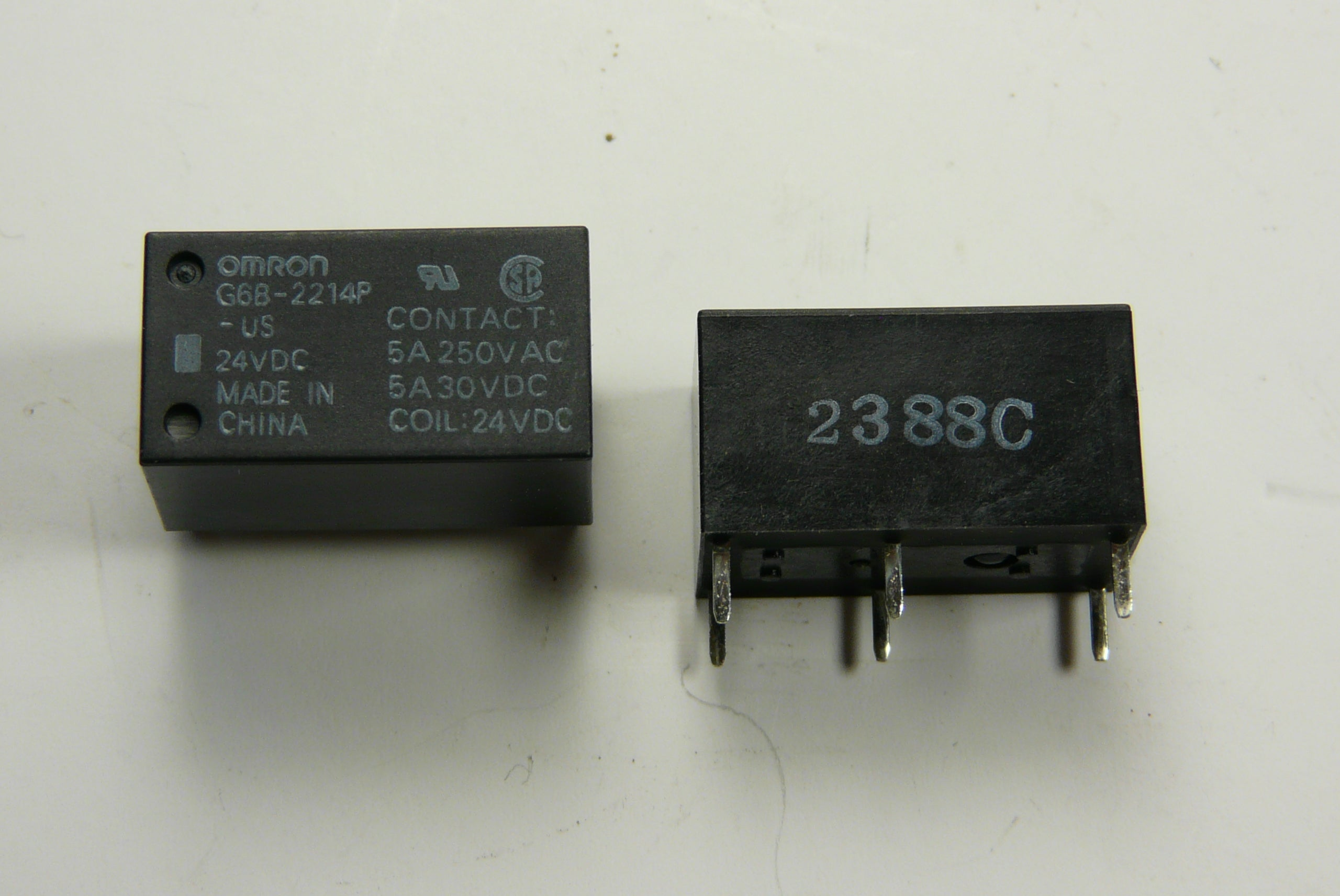 Omron Relay Part# G6B-2214P-US-DC24