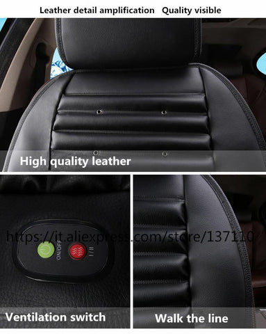 Audio & Video - 12v Car Seat Cooler With Fan