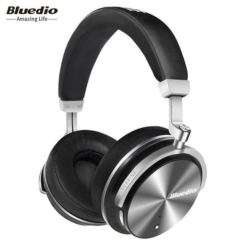 Audio & Video - Bluedio T4S Active Noise Cancelling Wireless Bluetooth Headphones